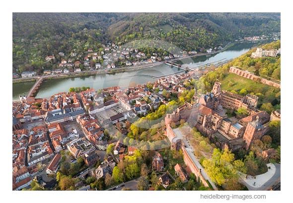 Archiv-Nr. hc2020126 | Heidelberger Altstadt von oben