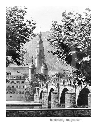 Archiv-Nr. 286hr / Alte Brücke u. Heiliggeistkirche