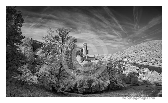 Archiv-Nr. h2018133 | Heidelberger Schloss im Herbst
