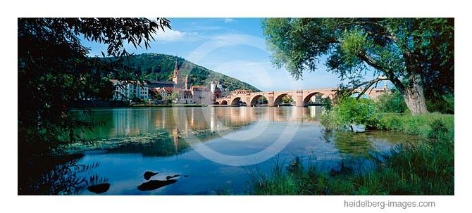 Archiv-Nr. hc2009194 / Neckarufer mit Blick auf die Alte Brücke