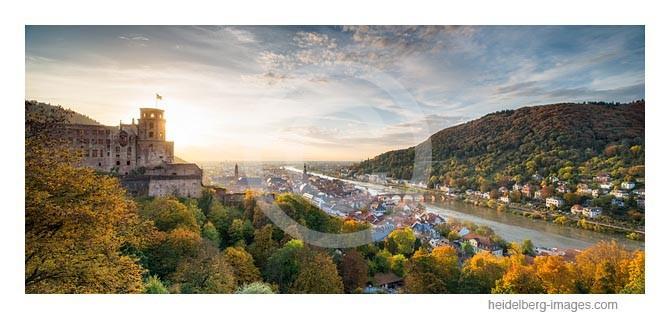 Archiv-Nr. hc2013165 / Herbstlicht über Heidelberg und der Rheinebene