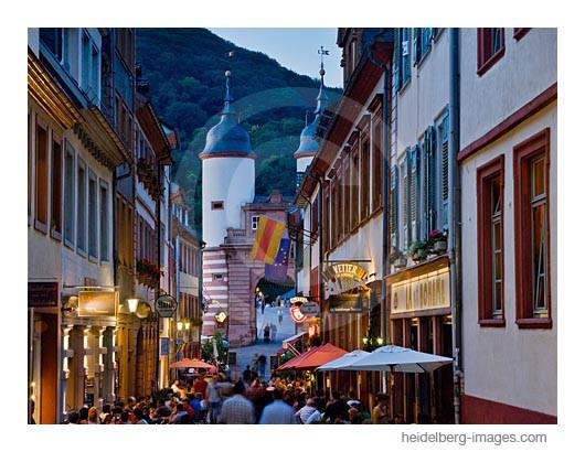 Archiv-Nr. hc2011130 | Steingasse in der Heidelberger Altstadt