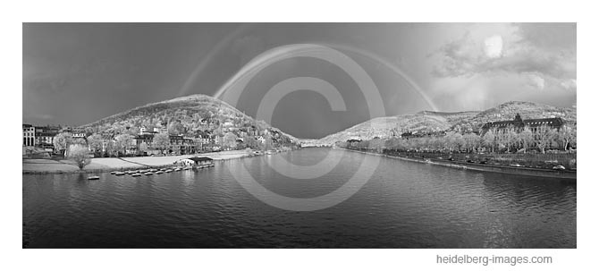 Archiv-Nr. h2011104 | Regenbogen über Heidelberg