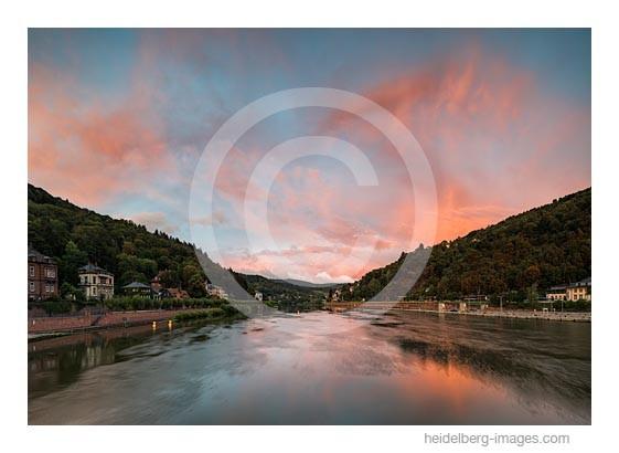 Archiv-Nr. hc2015151 | Neckar im Sonnenuntergang