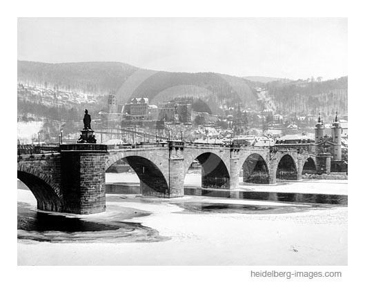 Archiv-Nr. h94/54 / Alte Brücke im Winter