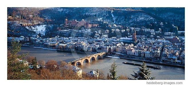Archiv-Nr. hc95105 | Heidelberg im Winter