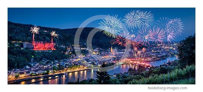 Archiv-Nr. hc2014145 / Heidelberg, Schlossbeleuchtung