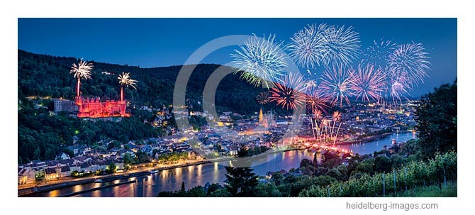 Archiv-Nr. hc2014145 | Heidelberg, Schlossbeleuchtung