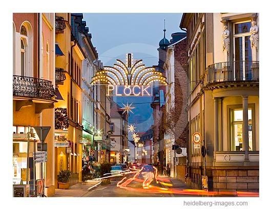 Archiv-Nr. hc2008138 | Weihnachtsbeleuchtung in der Plöck