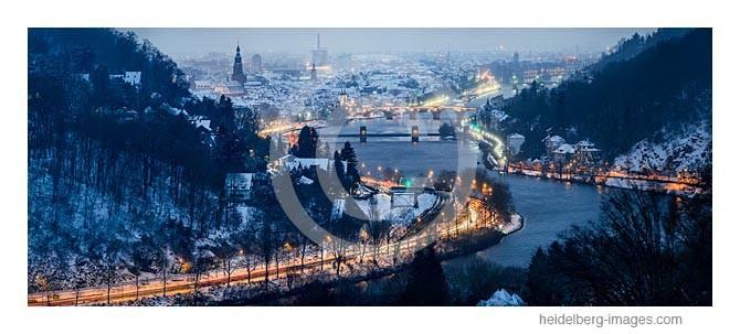 Archiv-Nr. hc2012192 | Blick ins Neckartal im Winter