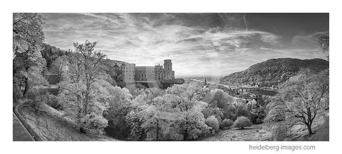 Archiv-Nr. hc2014176   Heidelberg, Traumhafter Blick auf das Schloss, die Altstadt u. die Rheinebene
