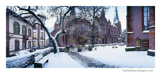 Archiv-Nr. hc2004107 / Unibibliothek im Winter