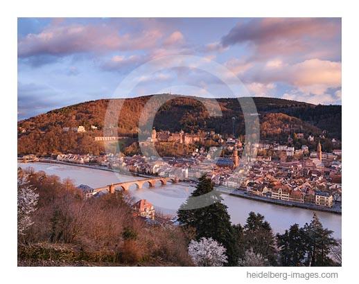 Archiv-Nr. hc2020109 | klassische Heidelbergansicht vom Philosophenweg