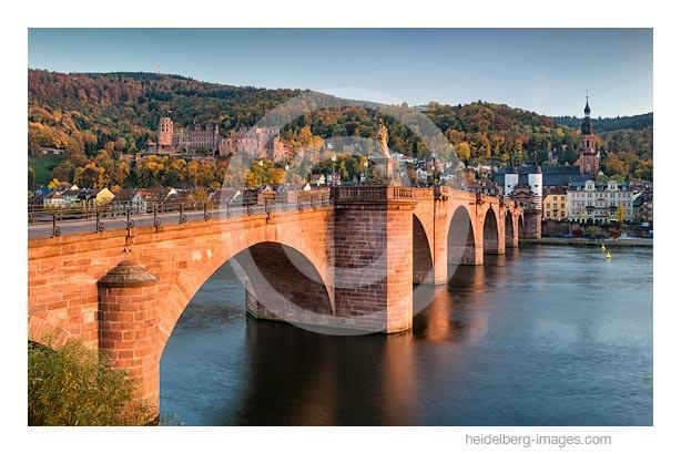 Archiv-Nr. hc2015159 | Alte Brücke u. Schloss im Abendlicht