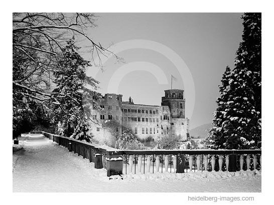 Archiv-Nr. h91107 | Schloss und Schlossterrasse im Winter