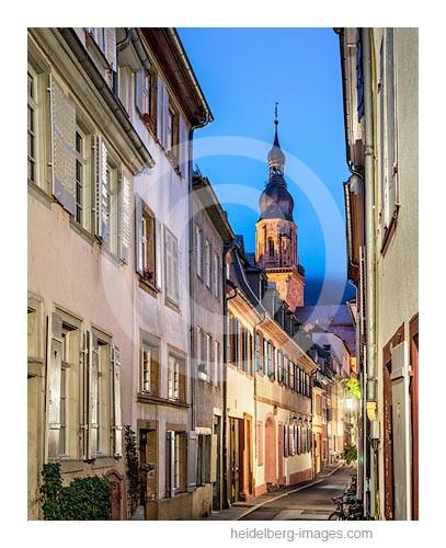 Archiv-Nr. hc2013178 | Steingasse mit Turm der Heiliggeistkirche