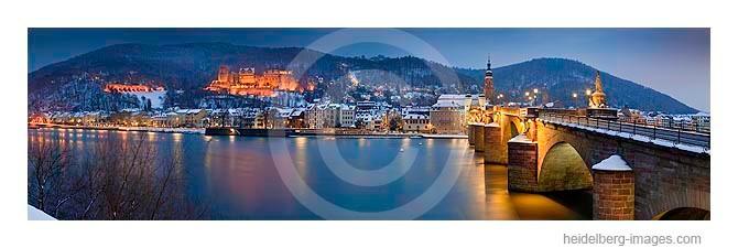 Archiv-Nr.  hc2010106 / Alte Brücke u. Altstadt im Winter