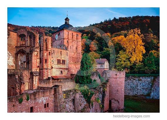 Archiv-Nr. hc2008132 / Herbst auf dem Heidelberger Schloss