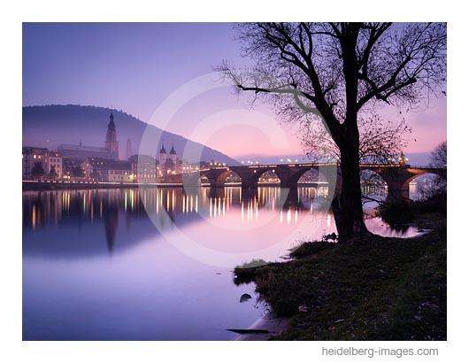 Archiv-Nr. hc2019140 | Winterabend an der Alten Brücke