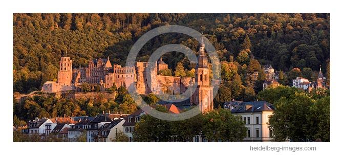 Archiv-Nr. hc2017148 | 'Letztes Licht', Schloss im Spätsommer
