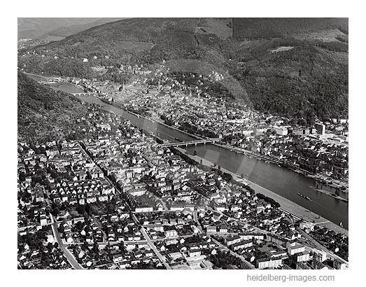 Archiv-Nr. L10_321 / Blick über Neuenheim auf Heidelberg 1961