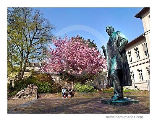 Archiv-Nr.  hc2010126 | Bunsendenkmal im Frühling