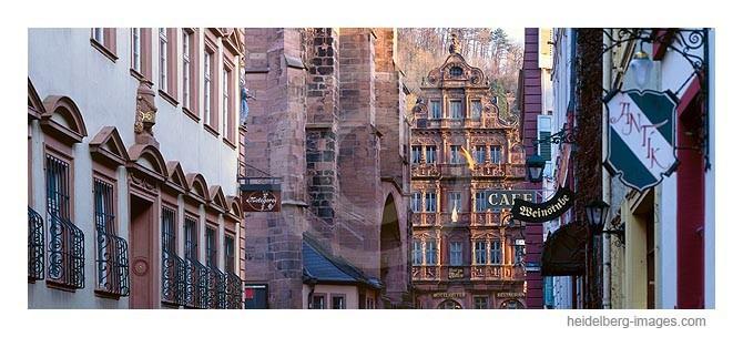 Archiv-Nr. hc2004122 | Blick aus der Haspelgasse auf das Hotel Ritter