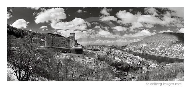 Archiv-Nr. h2005115 / Heidelberger Schloss im Winter