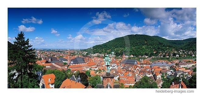Archiv-Nr. hc2006145 / Zinnsoldat blickt über Heidelberg