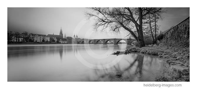 Archiv-Nr. h2014134 / Heidelberg, Herbststimmung an der Alten Brücke
