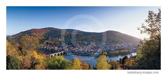 Archiv-Nr. hc2003216 / Blick auf das herbstliche Heidelberg