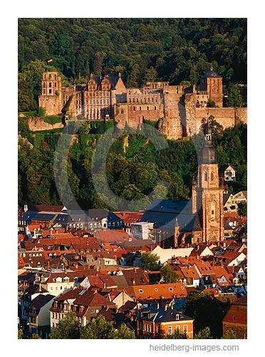 Archiv-Nr. hc95121 | Heiliggeistkirche u. Schloss im Abendlicht