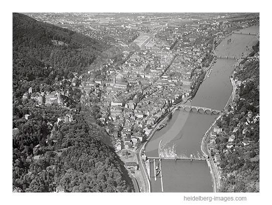 Archiv-Nr. L10_059 / Luftaufnahme von Heidelberg 1958