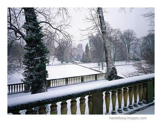 Archiv-Nr. hc96105 / Schlossgarten im Winterkleid