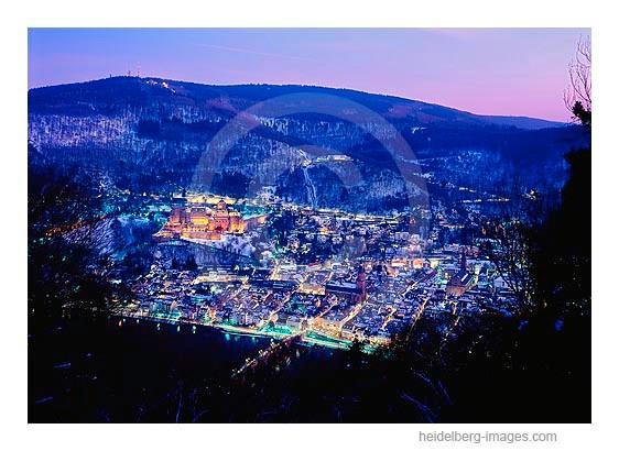 Archiv-Nr. hc2009142 | Blick auf das nächtliche Heidelberg
