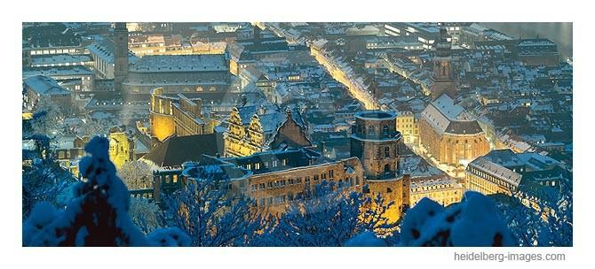 Archiv-Nr. hc 99161 | Schloss u. Altstadt im Winterkleid