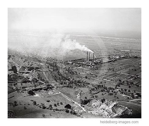 Archiv-Nr. L3008 / Zementwerk in Leimen 1970