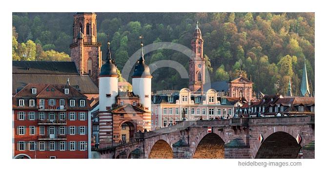 Archiv-Nr. hc2017121 | Frühling an der alten Brücke, Heidelberg