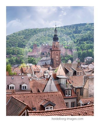 Archiv-Nr. hc2019123 | Morgenlicht - Heiliggeistkirche und Schloss