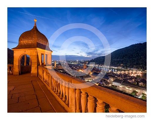 Archiv-Nr. hc2014162 | Heidelberg, Schlossaltan bei Nacht