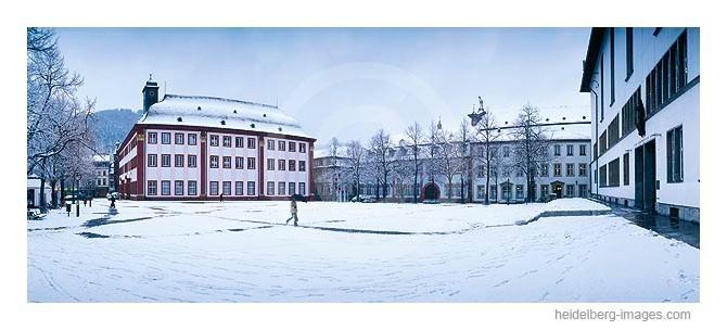 Archiv-Nr. hc2004108 | schneebedeckter Uniplatz