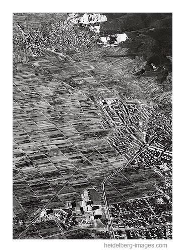 Archiv-Nr. L10_2088 / Luftbild von Handschuhsheim u. Dossenheim 1968