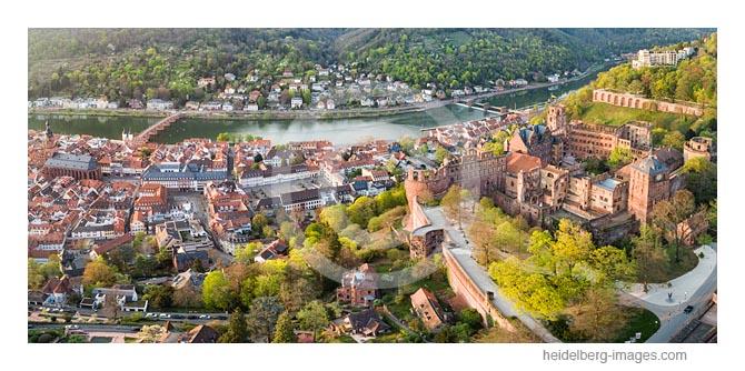 Archiv-Nr. hc2020125 | Heidelberger Altstadt Übersicht