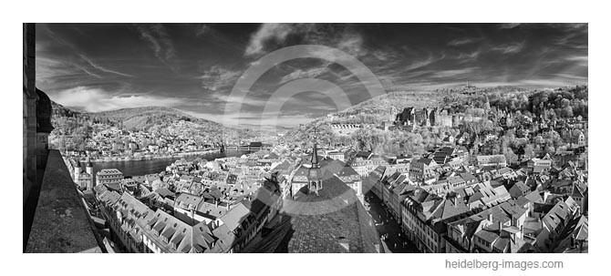 Archiv-Nr. h2014128   Blick von der Heiliggeistkirche auf die Stadt