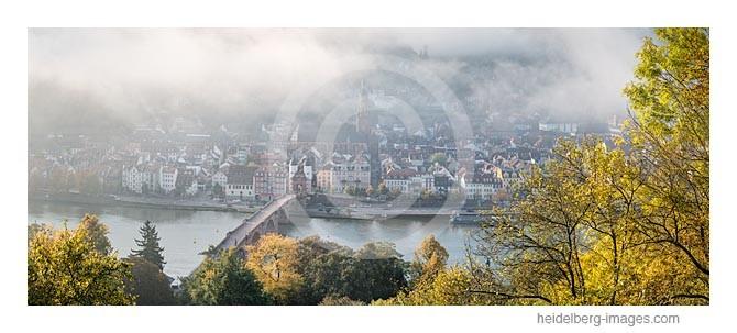 Archiv-Nr. hc2014164 | Morgennebel über dem herbstlichen Heidelberg