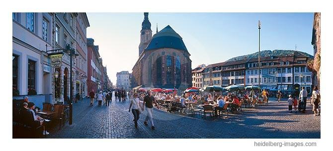 Archiv-Nr. hc2003197 | Marktplatz u. Heiliggeistkirche