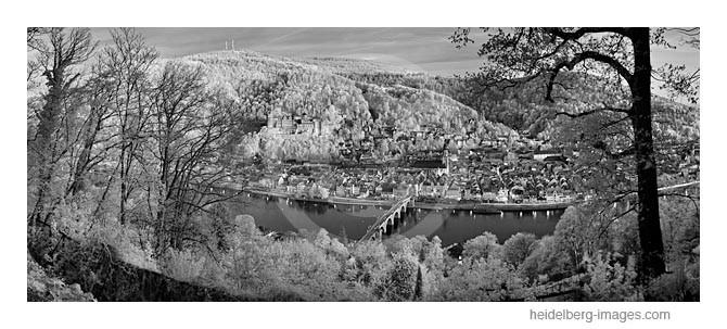 Archiv-Nr. h2011107   Heidelberg Stadtansicht und Königstuhl