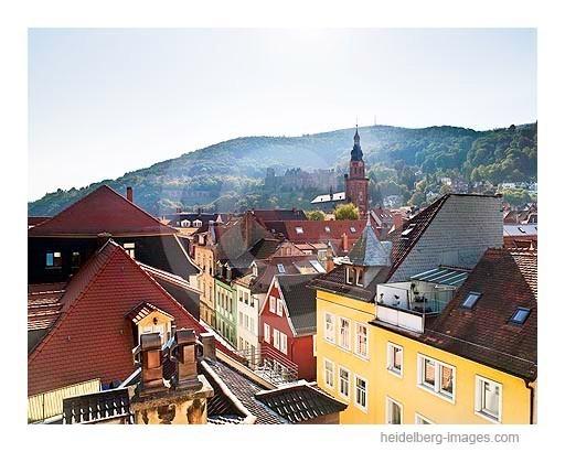 Archiv-Nr. hc2009212 | Dächer der Heidelberger Altstadt und Heiliggeistkirche