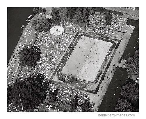Archiv-Nr. L10_446 / Thermalbad aus der Luft 1962