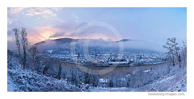 Archiv-Nr. hc 2009141 / Wintermorgen auf dem Philosophenweg